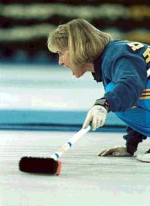 Swedish Silver Medal-winning Skip Elisabeth Hogstrom